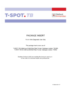 The T-SPOT.TB test package insert